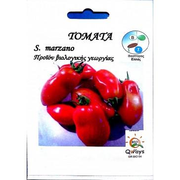Τομάτα Πομοντόρο S. Marzano, Βιολογικός σπόρος