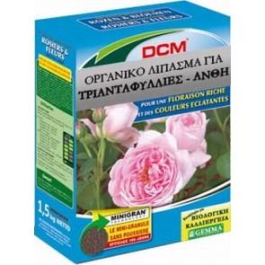Οργανικό λίπασμα για Τριανταφυλλιές και άνθη 1,5 Kg